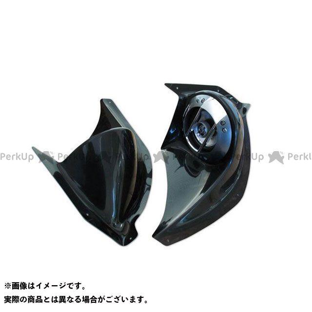 ビビッドパワー マジェスティ NEW MAJESTY/4D9 パワードカスタムスピーカーボード/4インチ カラー:未塗装黒ゲル VIVID POWER