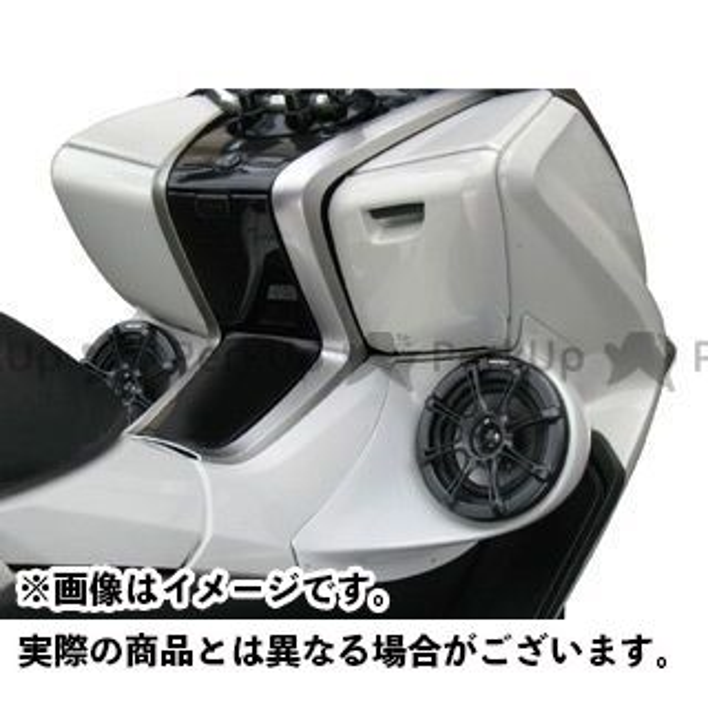 ビビッドパワー マジェスティ MAJESTY/4D9 パワードカスタムスピーカーボード/5インチ カラー:未塗装黒ゲル VIVID POWER