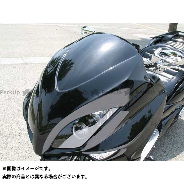 ビビッドパワー マジェスティ 4D9 MAJESTY(SG20J)前期用 フロントフェイスI カラー:黒ゲル VIVID POWER
