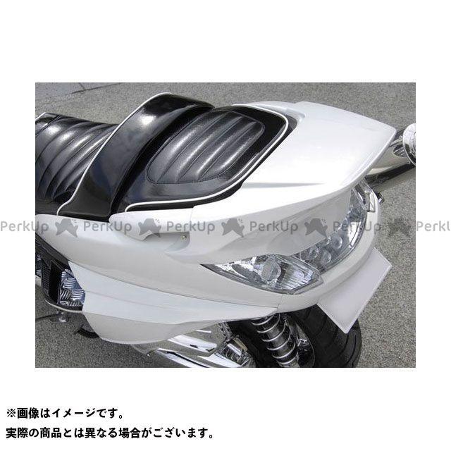 【エントリーで更にP5倍】ビビッドパワー グランドマジェスティ250 グランドマジェスティ400 GRAND MAJESTY リアスポイラー カラー:未塗装黒ゲル VIVID POWER