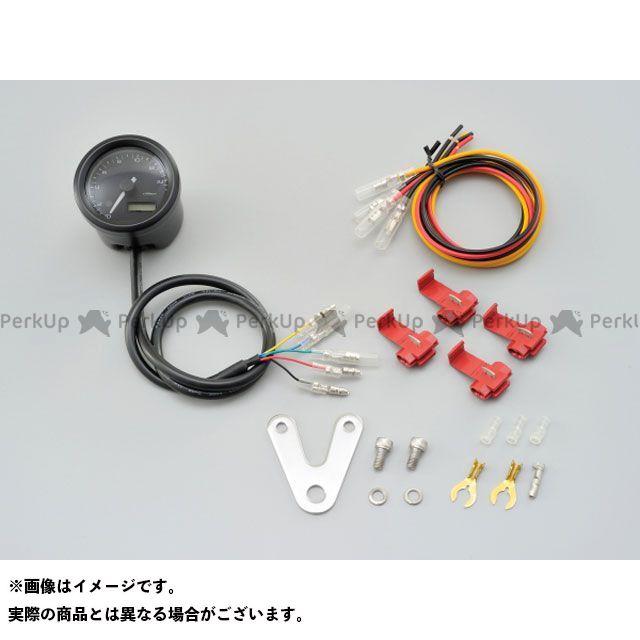 デイトナ VELONA 電気式タコメーター φ48(パルスジェネレーター無し) ブラックボディ 3色LED タイプ:15000rpm DAYTONA