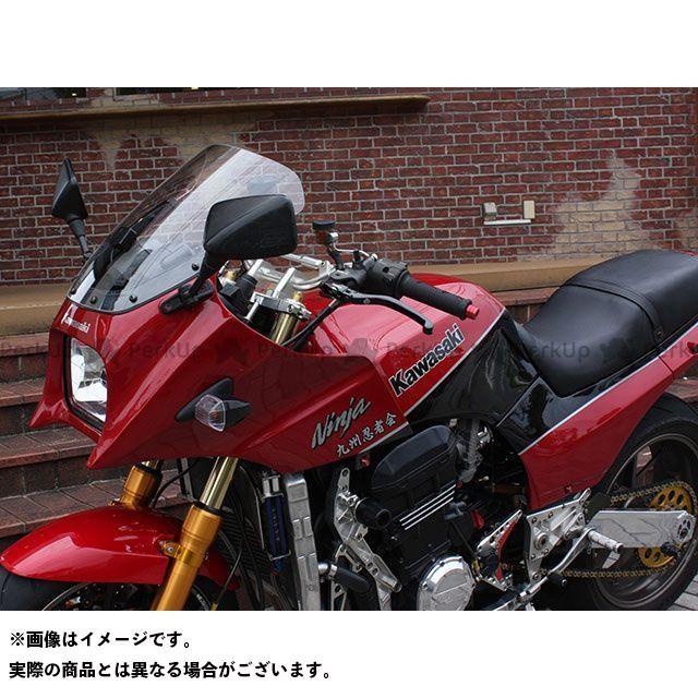 アクリポイント ニンジャ900 GPZ900R 1984-2003用スクリーン ストリート(クリア) ACRY-Point