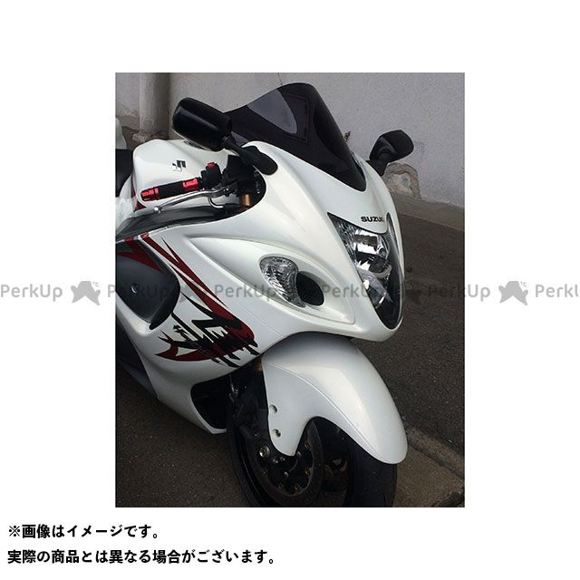 アクリポイント 隼 ハヤブサ GSX1300R隼 2008-2013用スクリーン ストリート(スモーク) ACRY-Point