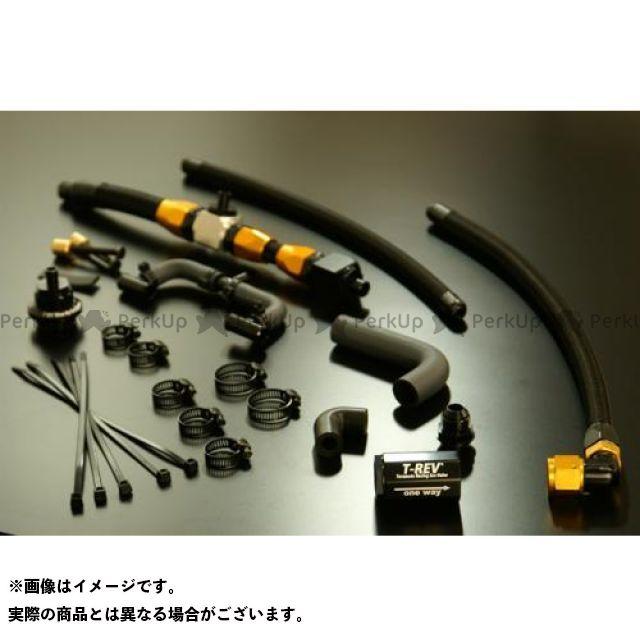 送料無料 テラモト ZRX1200ダエグ その他エンジン関連パーツ T-REVαシステムSPフルキットZRX1200DAEG レッド