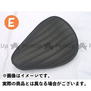 部品屋K&W 汎用 シート関連パーツ ソロシート タイプE 黒