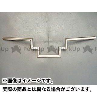 部品屋K&W 汎用 ハンドル関連パーツ インベーダーZバー 7/8インチ
