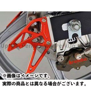 アグラス CBR250R リアスタンドプレート カラー:レッド AGRAS