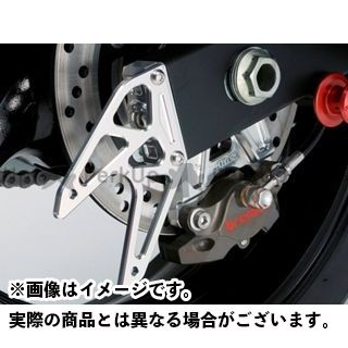 アグラス GSR750 チェーン関連パーツ チェーンアジャスターキャップ スタンドプレート付 シルバー