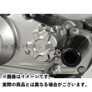 アグラス Dトラッカー125 オイルフィルターカバー カラー:チタン AGRAS