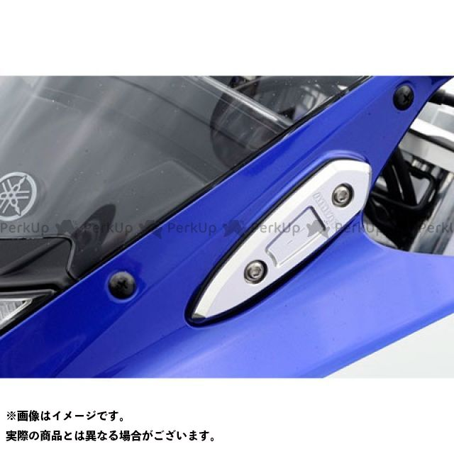 アグラス YZF-R25 ミラーキャンセラー カラー:ゴールド AGRAS