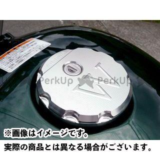 アグラス W800 タンクキャップカバー カラー:ガンメタ AGRAS