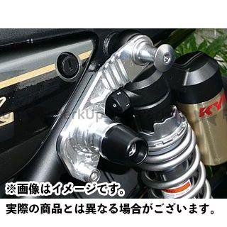 アグラス ZRX1200ダエグ サスペンションスライダー ジュラコンカラー:ブラック AGRAS