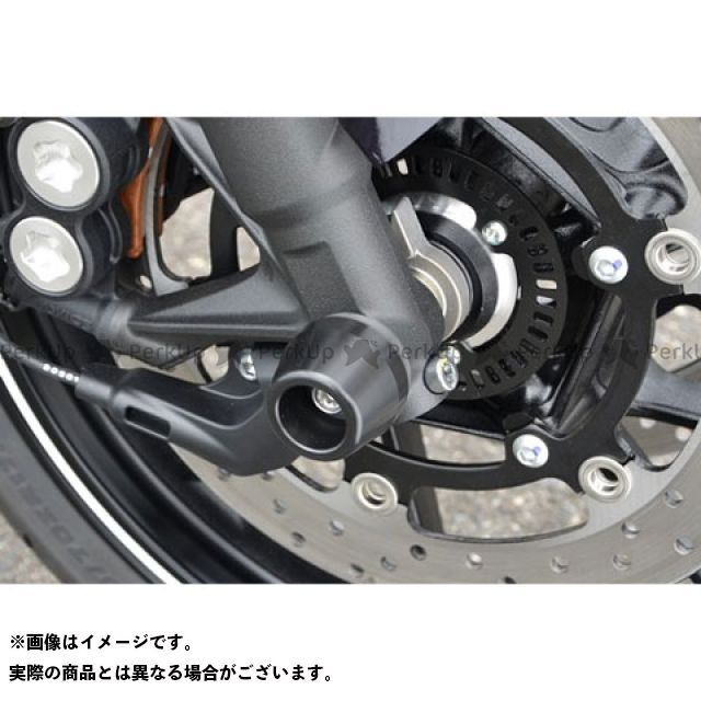 アグラス MT-09 その他サスペンションパーツ アクスルプロテクター コーンタイプ アルミ レッド