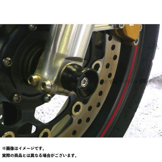 アグラス CB1100 その他サスペンションパーツ フロントアクスルプロテクター ファンネル ジュラコン ホワイト