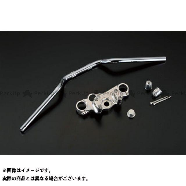 アグラス GSR250 GSR400 トップブリッジ ハンドルSET ブロックタイプ AGRAS
