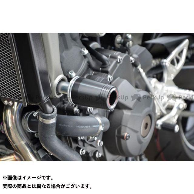【エントリーで最大P23倍】アグラス MT-09 レーシングスライダー フレーム φ50 ジュラコンカラー:ブラック タイプ:ロゴ無 AGRAS