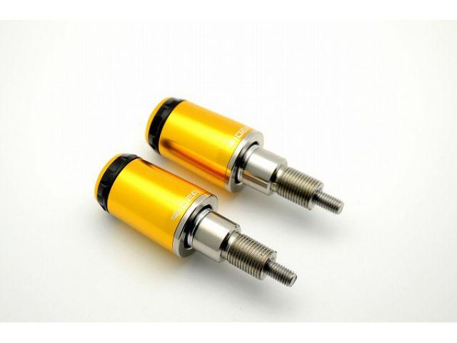 送料無料 リデア TMAX530 ハンドル関連パーツ YAMAHA T-MAX530 12-用 RIDEA SPINNER ハンドルバーエンド ロングタイプ ゴールド