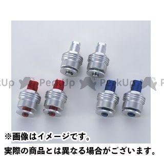 ポッシュフェイス SRX400(SRX-4) SRX600(SRX-6) イニシャルアジャスター タイプ2 カラー:シルバー POSH Faith