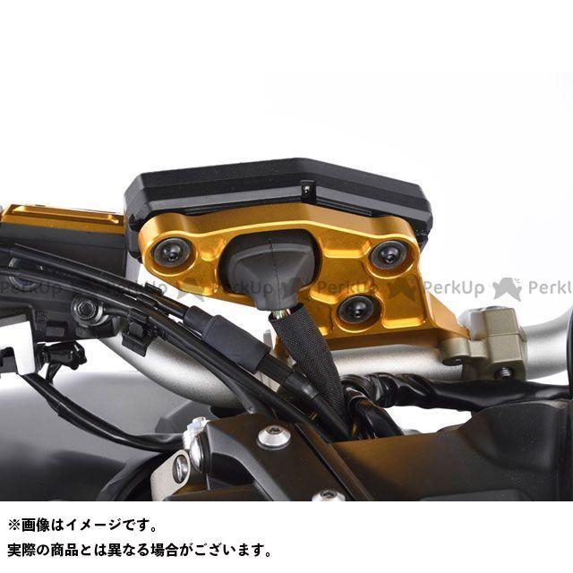 【エントリーで更にP5倍】ポッシュフェイス MT-09 ビレットメーターステー カラー:ゴールド POSH Faith