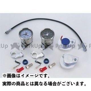 クリエイティブ・ファクトリー ポッシュ ゴリラ モンキー タコメーターキット・6V車輌用(ブラック/シルバー) C.F.POSH