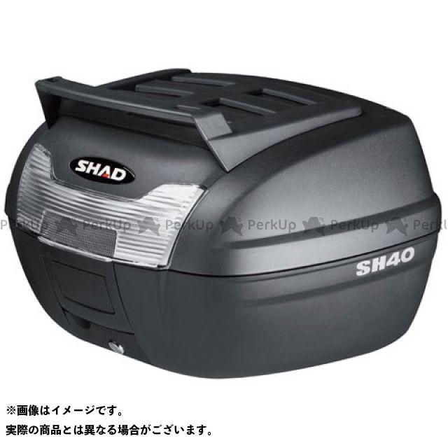 シャッド SHAD ついに入荷 ツーリング用ボックス ツーリング用品 エントリーで最大P21倍 CARGO 無塗装ブラック トップケース メーカー直送 汎用 SH40