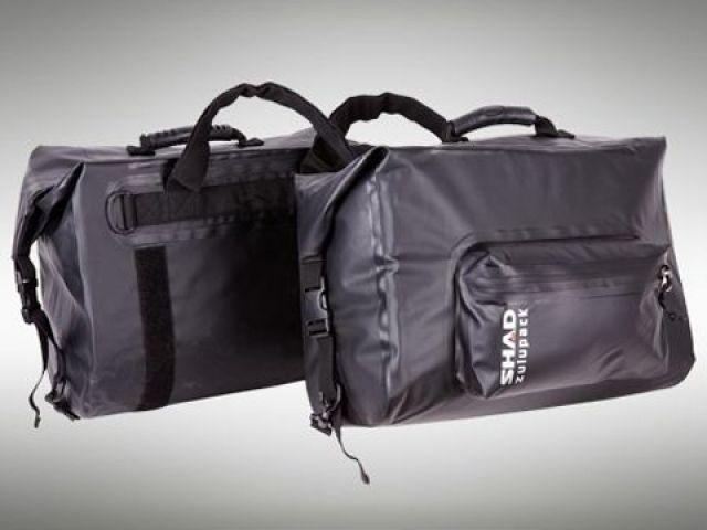 送料無料 バイクブロスバリュー BikeBros.VALUE ツーリング用バッグ SW42 zulupack 防水サドルバッグ18L(ブラック)