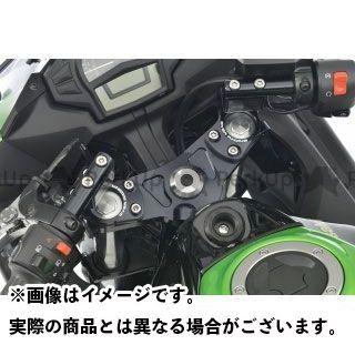 オーバーレーシング ニンジャ400 スポーツライディング ハンドルキット カラー:ブラック OVER RACING