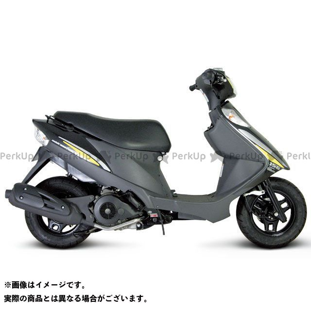 SP武川 アドレスV125 アドレスV125S サイレントスポーツマフラー TAKEGAWA