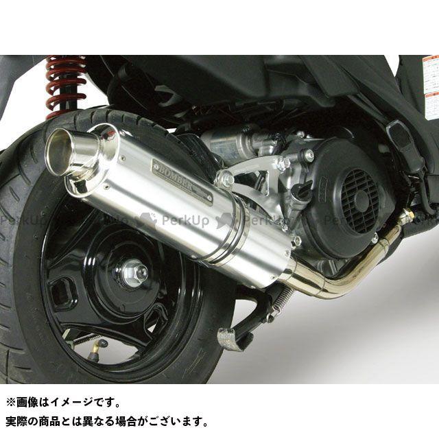 SP武川 アドレスV125 アドレスV125S マフラー本体 サイレントボンバーマフラー(政府認証)