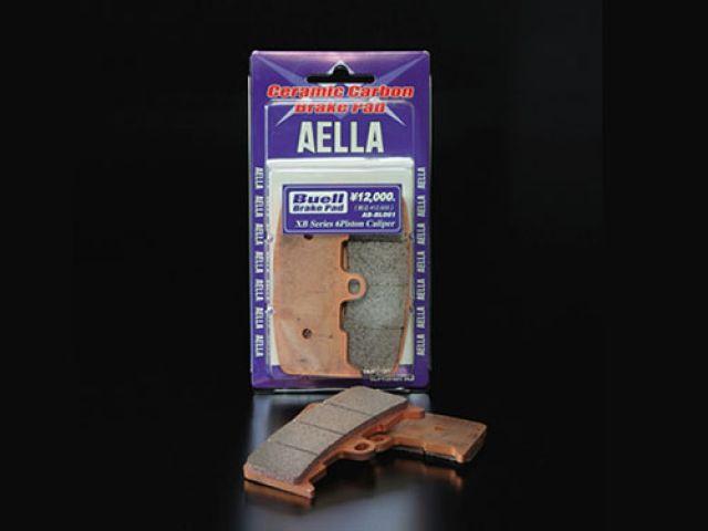 送料無料 アエラ AELLA ブレーキパッド セラミックカーボンブレーキパッド