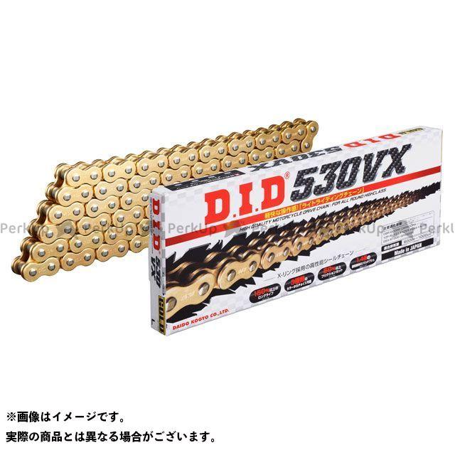 DID ストリートチェーン 530VX カシメジョイントタイプ ゴールド 120L メーカー在庫あり ディーアイディー