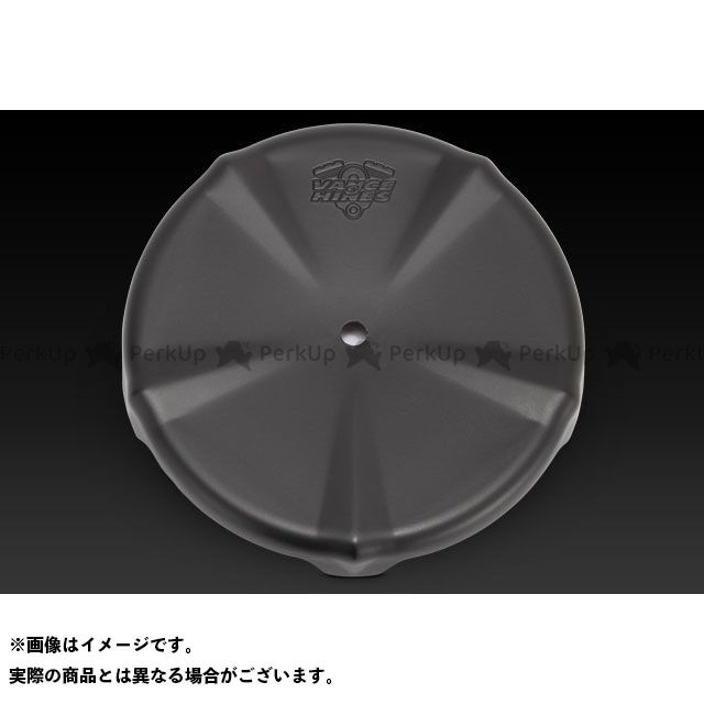 バンス 汎用 スカルキャップ カバー カラー:ブラック VANCE&HINES