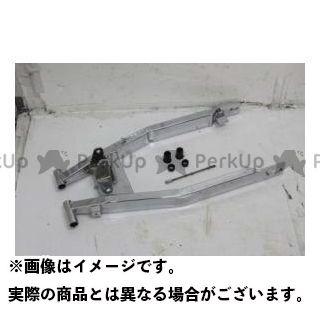 グロウワン TW200 TW225 G-015 ロングスイングアーム(メッキ)  GROWONE