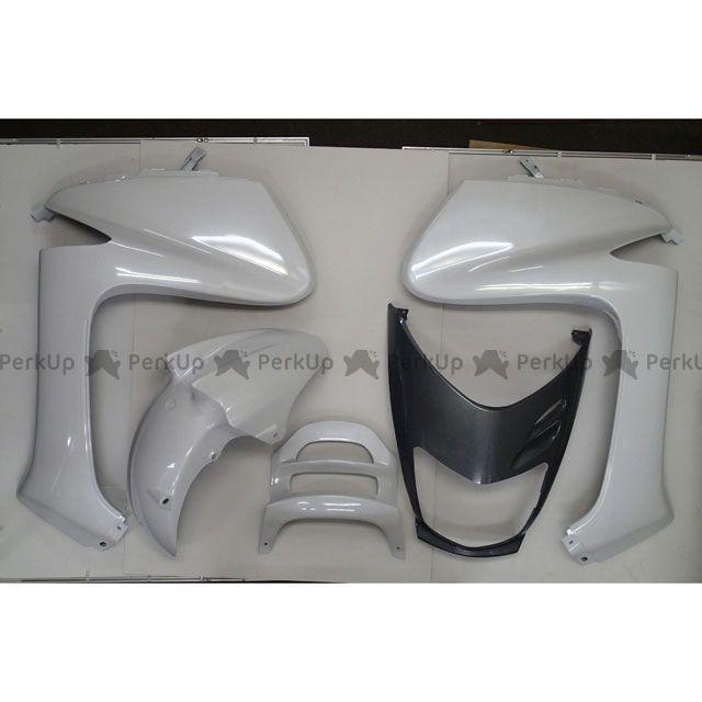 グロウワン マジェスティ125 外装セット マジェスティ125/FI用 外装9点セット ホワイト