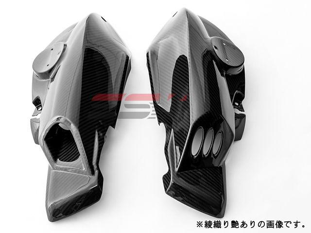 SSK K1200R ドレスアップ・カバー エアダクトカバー 左右セット ドライカーボン 平織り艶あり
