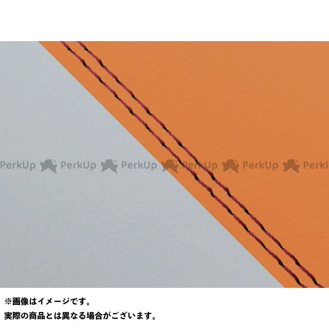 【エントリーで最大P23倍】グロンドマン W650 W650(99年 EJ650A1/C1) 国産シートカバー 張替 オレンジ ライン:グレーライン 仕様:赤ダブルステッチ Grondement