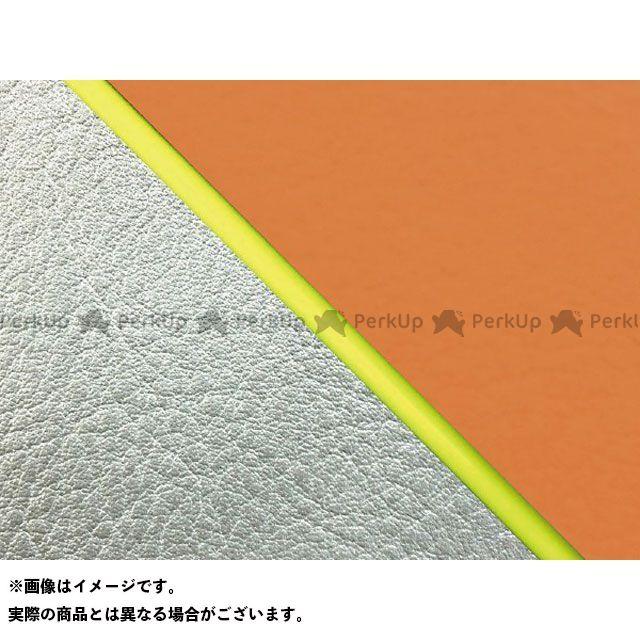 【エントリーで最大P23倍】グロンドマン W650 W650(99年 EJ650A1/C1) 国産シートカバー 張替 オレンジ ライン:シルバーライン 仕様:黄パイピング Grondement