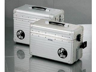 送料無料 ヘプコアンドベッカー HEPCO&BECKER ツーリング用ボックス ALU EXCLUSIV サイドケース30 左右セット(シルバー)