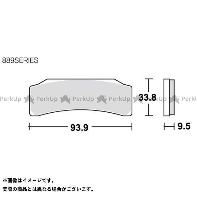 送料無料 SBS 汎用 ブレーキパッド ブレーキパッド 889DS レーシング(デュアルカーボン)