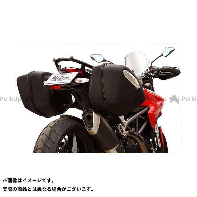 モトクレイジー ハイパーストラーダ ステンレス製フェンダーレスキット(ブラック) MotoCRAZY
