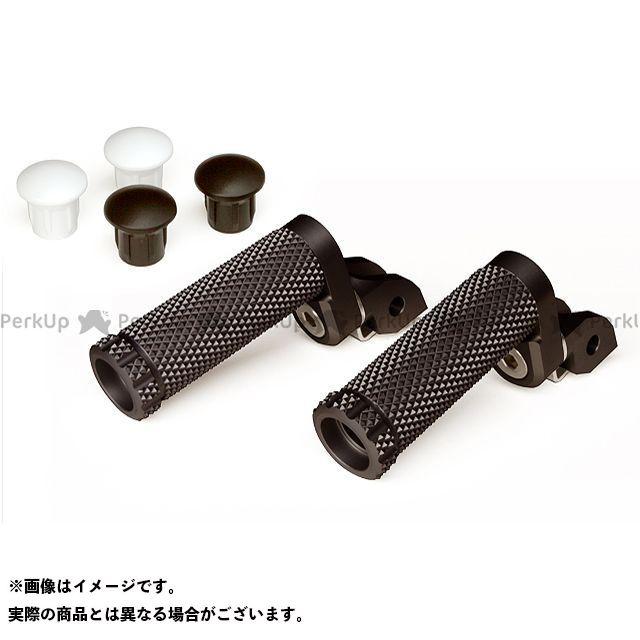 【エントリーで更にP5倍】モトクレイジー SBKアルミステップR-8Pキット 21mm(8ポジション) カラー:ブラック MotoCRAZY