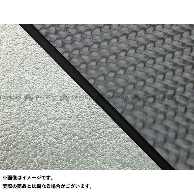 グロンドマン W650 W650(99年 EJ650A1/C1) 国産シートカバー 張替 カーボンブラック ライン:シルバーライン 仕様:黒パイピング Grondement
