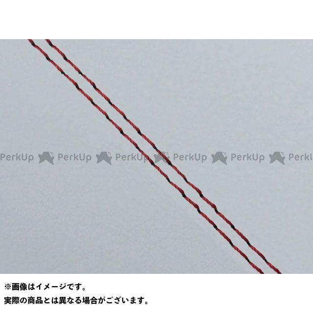 グロンドマン W650 W650(99年 EJ650A1/C1) 国産シートカバー 張替 グレー ライン:グレーライン 仕様:赤ダブルステッチ Grondement