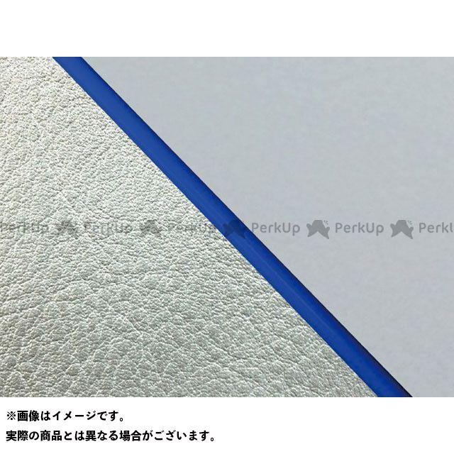 【エントリーで最大P23倍】グロンドマン W650 W650(99年 EJ650A1/C1) 国産シートカバー 張替 グレー ライン:シルバーライン 仕様:青パイピング Grondement