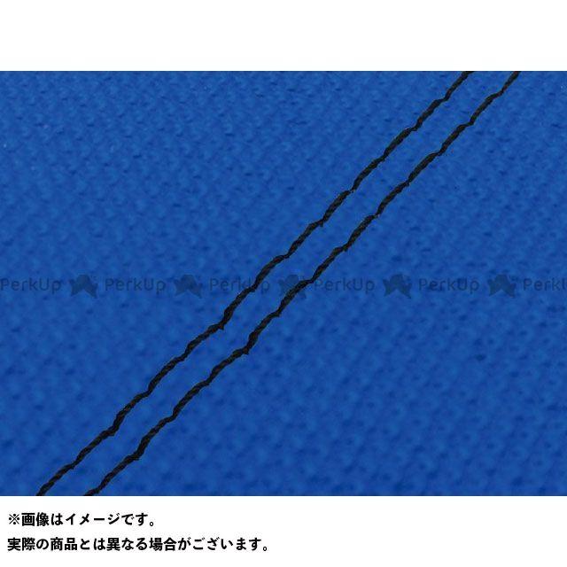 【エントリーで最大P23倍】グロンドマン W650 W650(99年 EJ650A1/C1) 国産シートカバー 張替 スベラーヌブルー ライン:- 仕様:黒ダブルステッチ Grondement