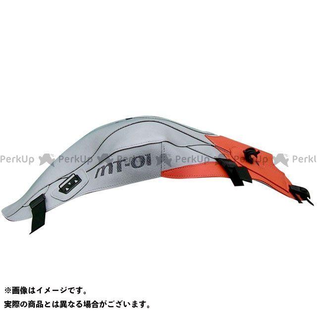 バグスター MT-01 タンクカバー カラー:(08-09)ライトグレー/オレンジ BAGSTER
