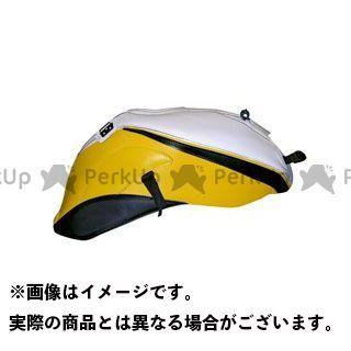 バグスター FZ1(FZ1-N) タンクカバー (08-10)ホワイト/イエロー/ブラック BAGSTER