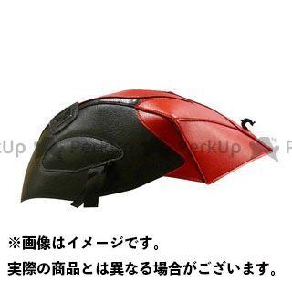 バグスター GSX-R600 GSX-R750 タンクカバー (08)ブラック/レッド BAGSTER