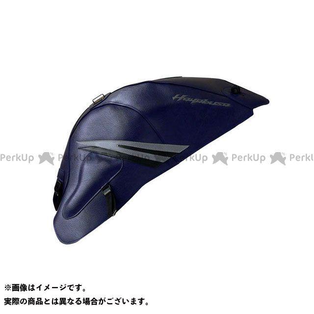 バグスター 隼 ハヤブサ タンクカバー カラー:(08-10)ダークブルー/グレー/ブラック BAGSTER