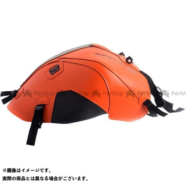 バグスター MT-09 タンクカバー カラー:(14-15)オレンジ/カーボン BAGSTER